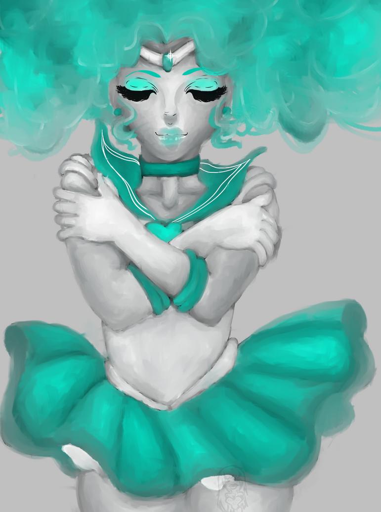 SailorNeptune by CagedNephilim