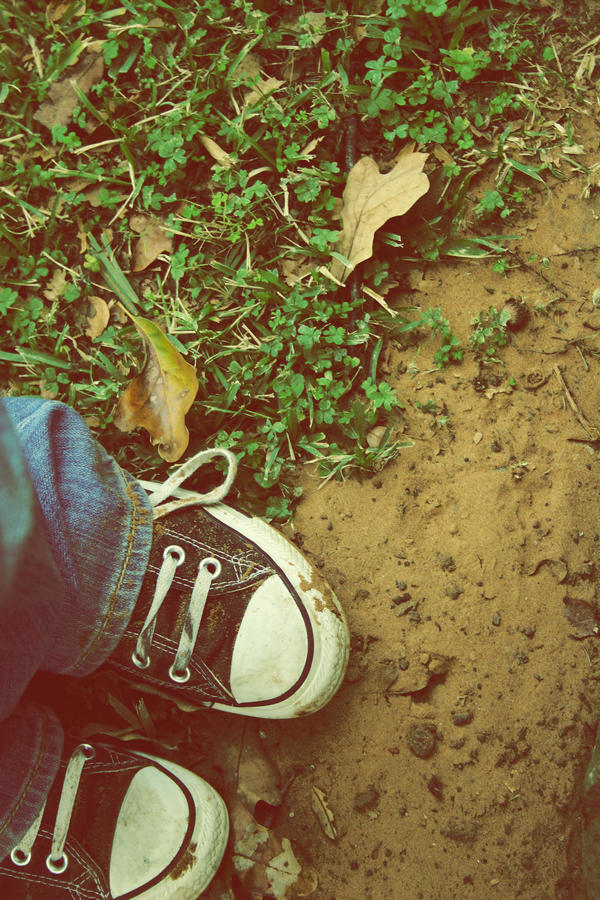 now my feet touch the ground by cyphomandra
