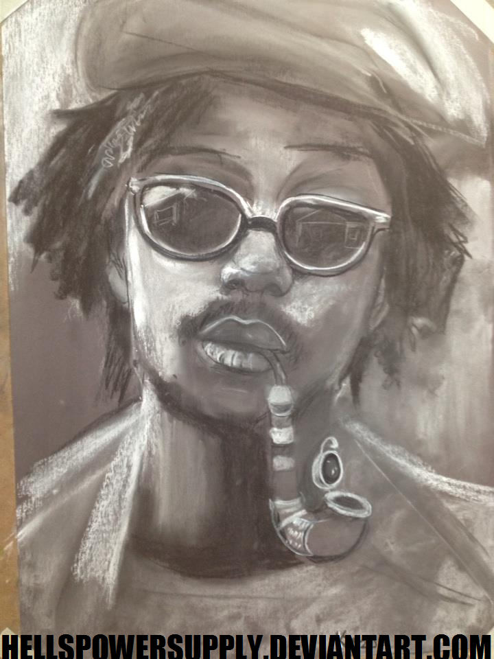 Peter Tosh Portrait by Hellishly-Sweet