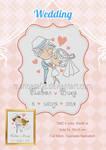 Wedding cross stitch schemes