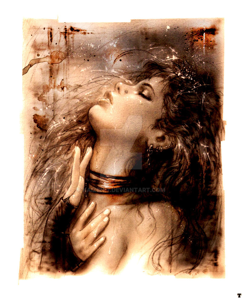 Luis Royo painting adaptation by Kaizen-7