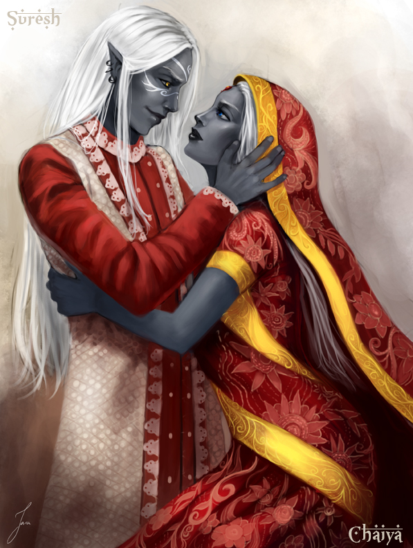 Commission: Suresh and Chaiyah2 by iara-art