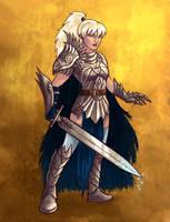 Commission: Knight by iara-art