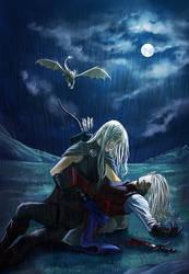 Commission: Tears, blood and rain