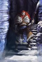 Commission: Damphir Warpriest by iara-art