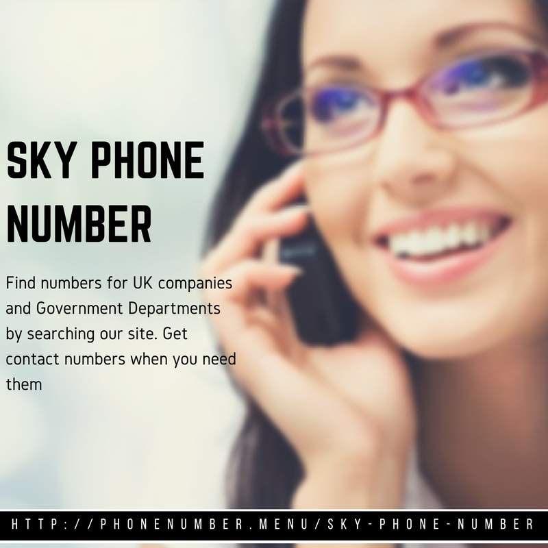 Sky Phone Number by peacockkate