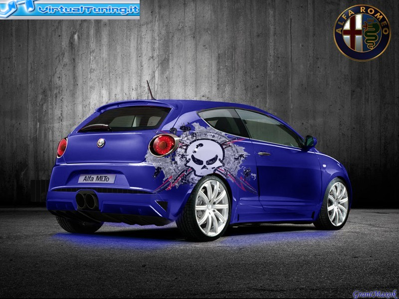alfa romeo mito tuning by grantmaxok on deviantart. Black Bedroom Furniture Sets. Home Design Ideas