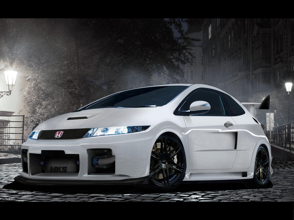honda civic tuning by grantmaxok on deviantart. Black Bedroom Furniture Sets. Home Design Ideas