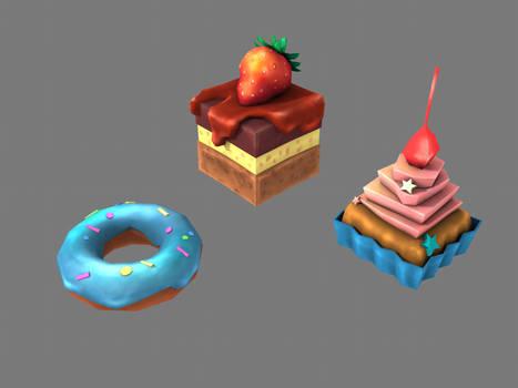 Lowpoly Stylized Baking 3D