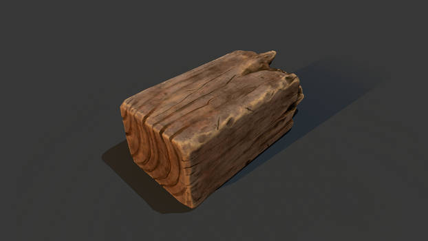 Wood Debris 3D
