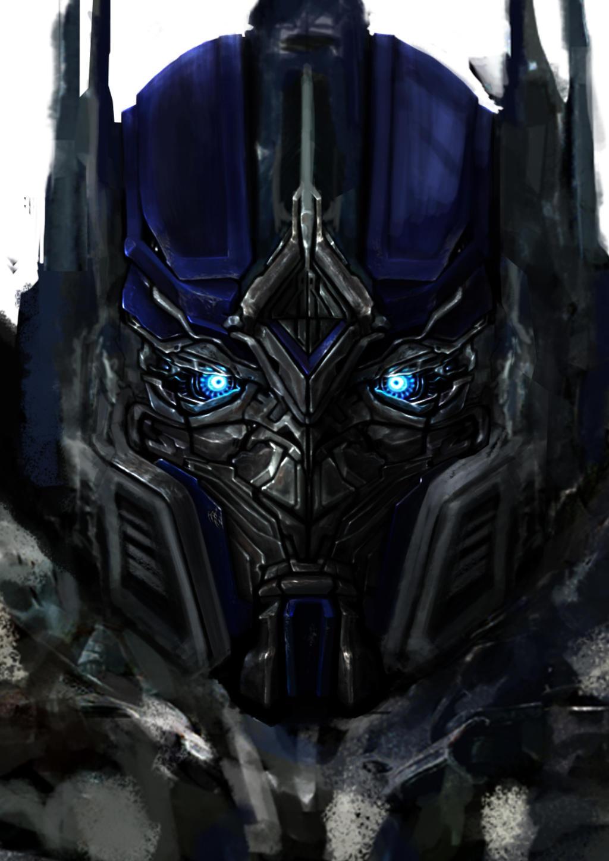 Optimus Prime face TF5...