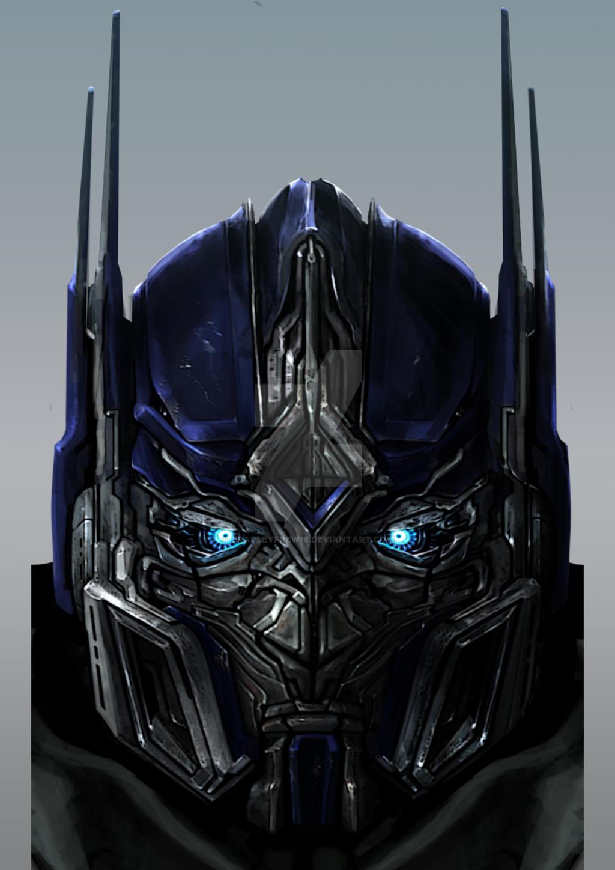 Optimus Prime Head Stu...