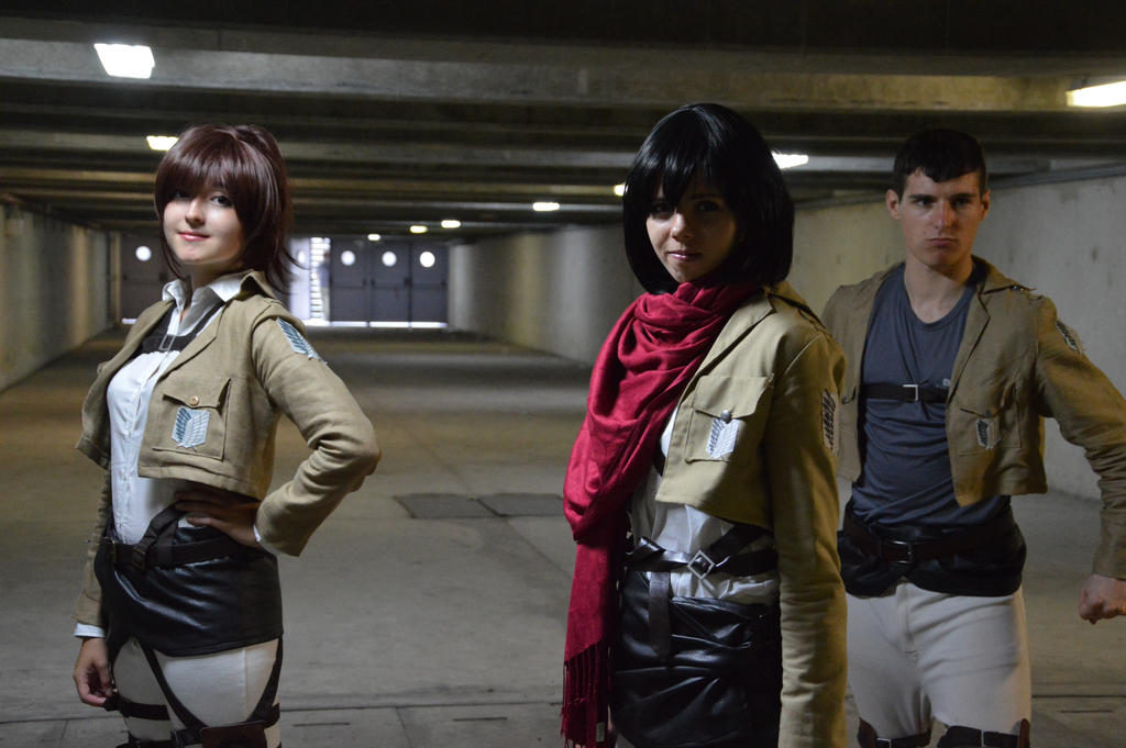 Faith - Shingeki no Kyojin by Feutre34