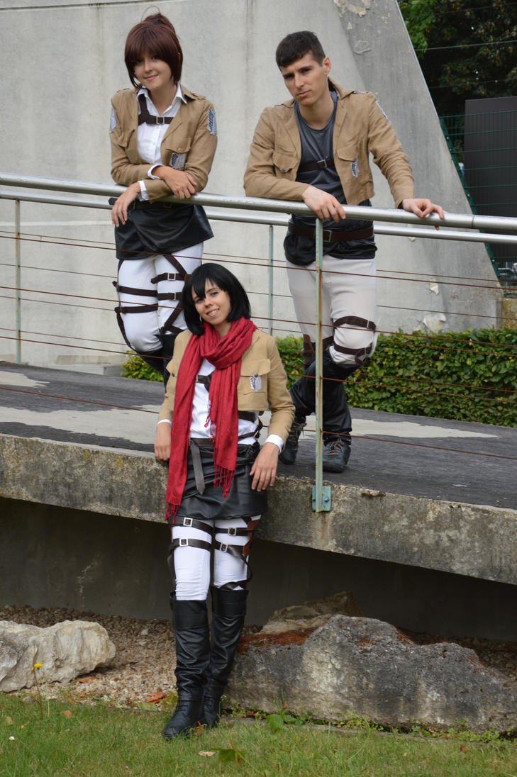 Team - Shingeki no Kyojin by Feutre34