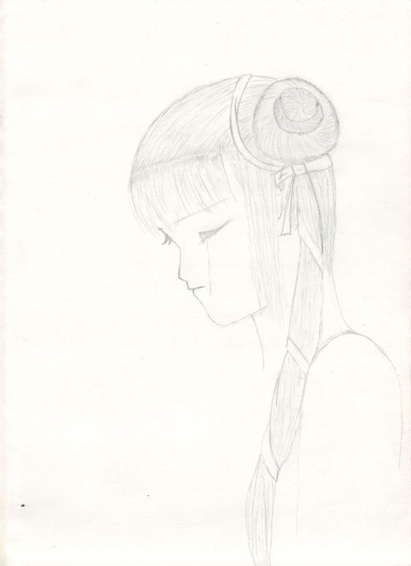 Miyu Tears by RainingJadeBlood