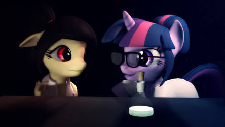 (Gift): [SFM Ponies] Explaining Science by CottonPonySFM