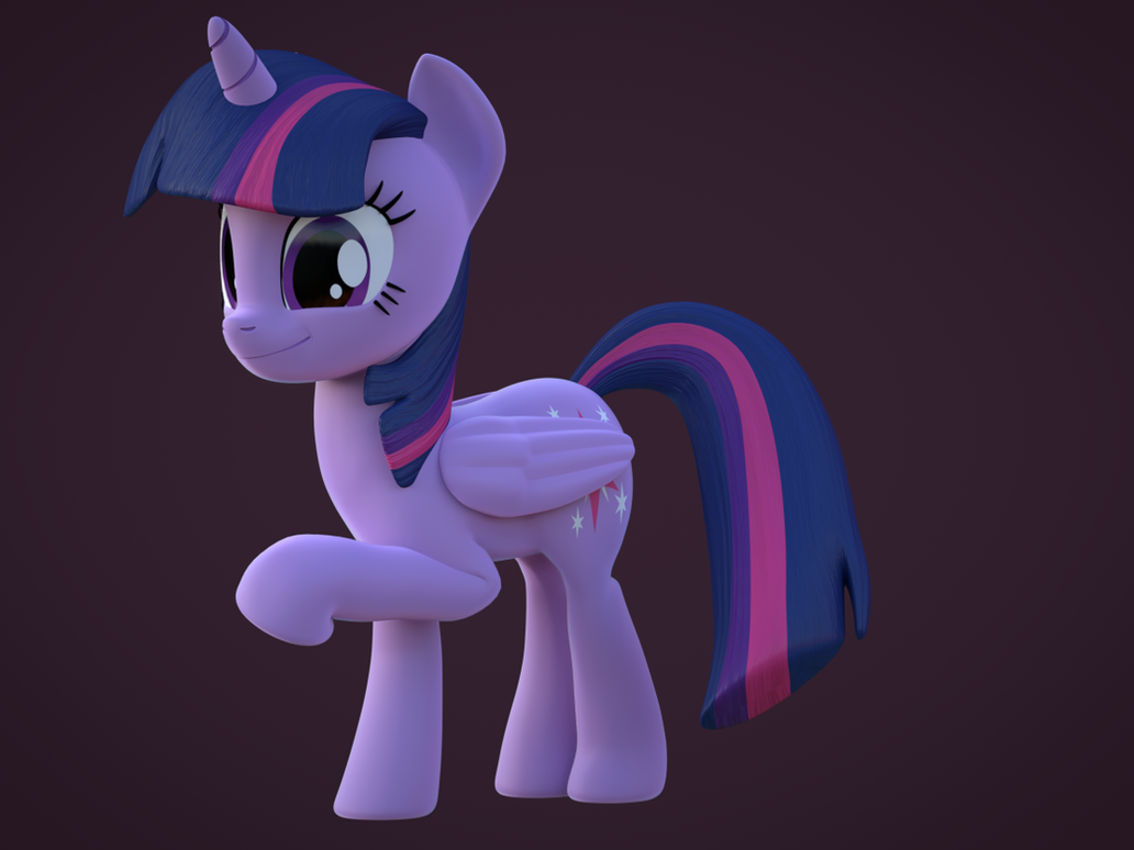 [Blender]: Twilight Sparkle by CottonPonySFM