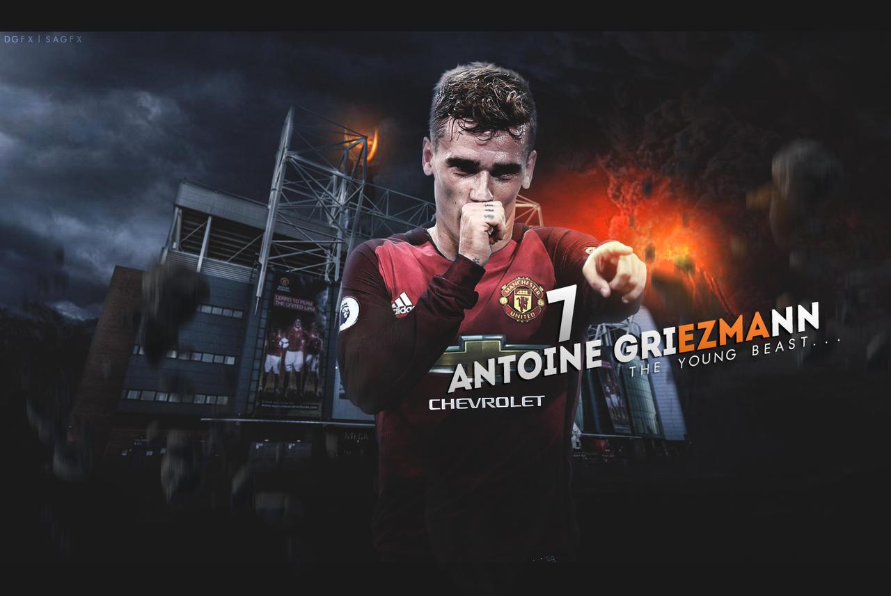 antonie griezmann manchester united wallpaper by