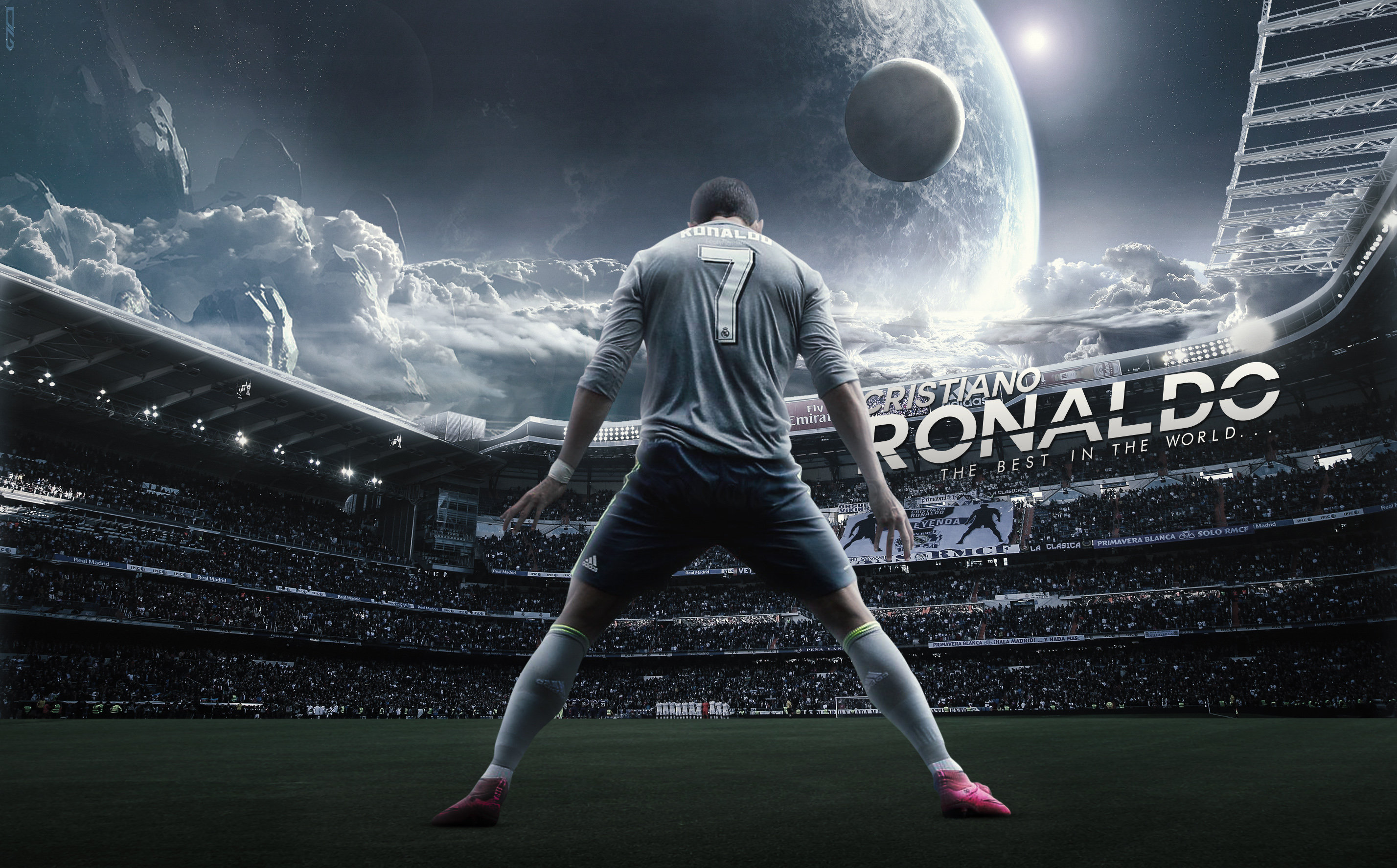 Art Of Cristiano Ronaldo Fans Wallpaper Sport Soccer: Wallpaper By DanialGFX On DeviantArt