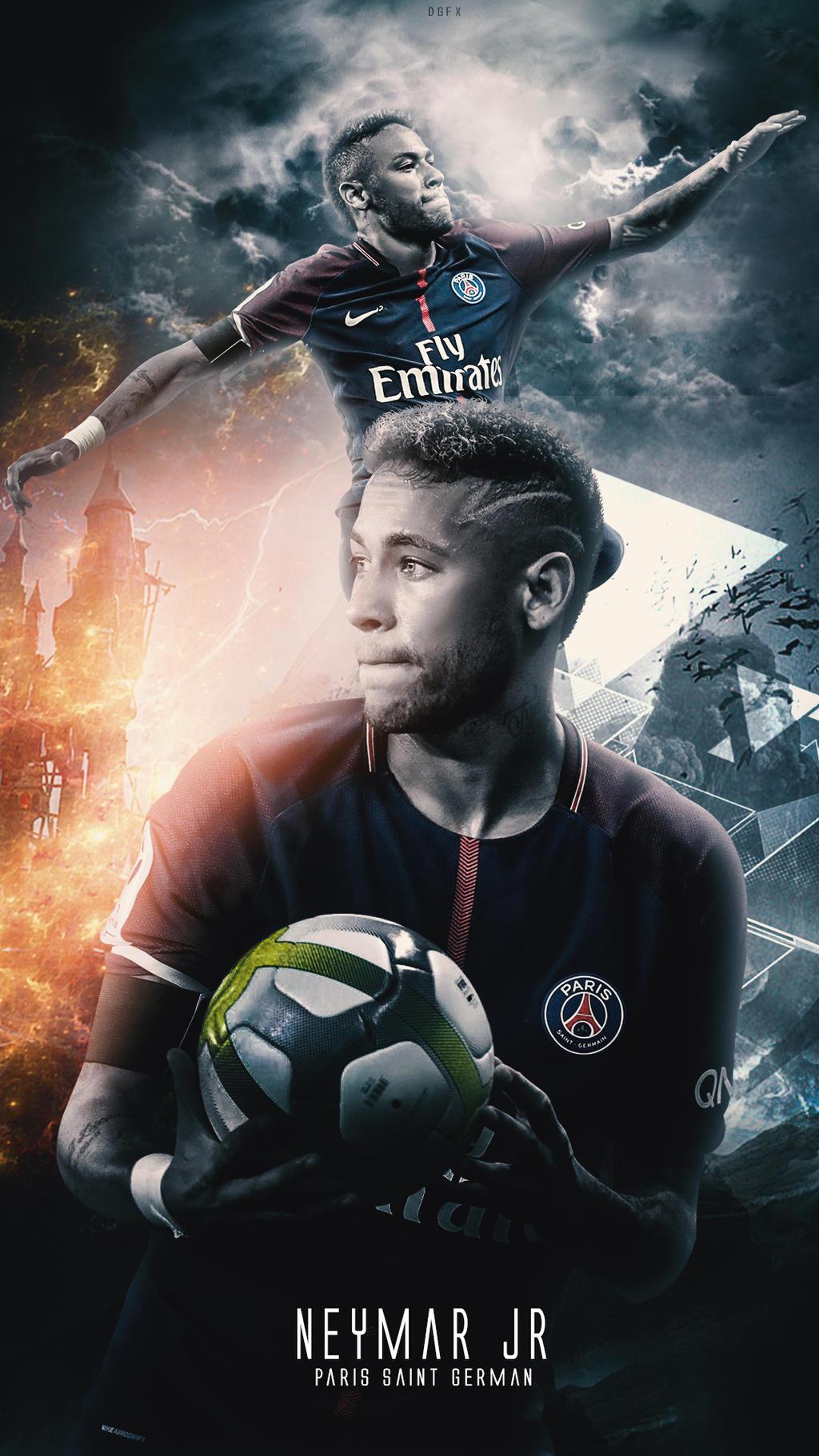 Neymar Jr Wallpaper Psg By Danialgfx On Deviantart