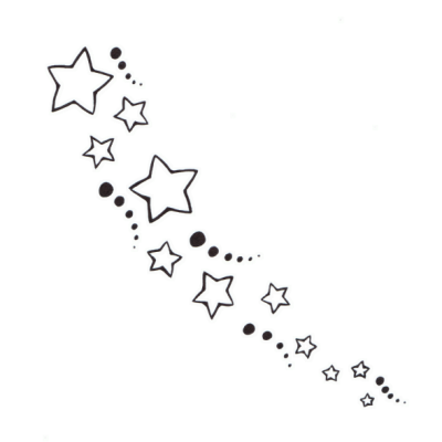 star clusters tattoo-#36