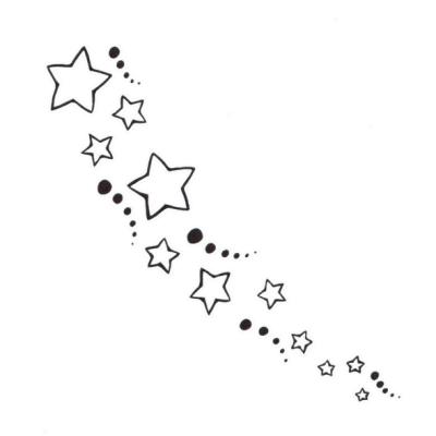 star clusters tattoo - photo #35