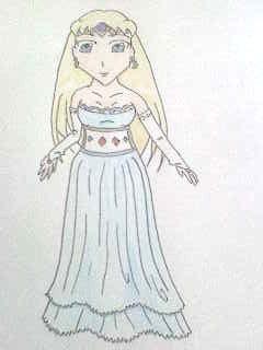 Sakura royal gown by Punisher2006