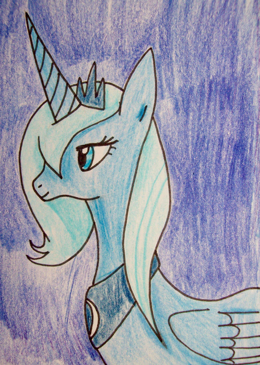 Princess Luna by Punisher2006