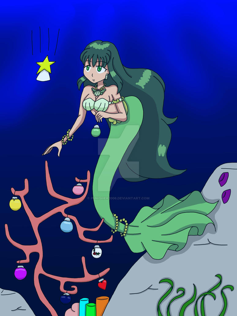 CE Mermaid Melody Christmas by Punisher2006
