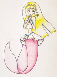 Lillie as a Mermaid by Punisher2006