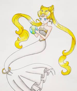 Mermaid Princess Serenity