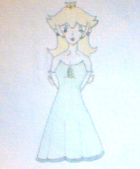 Peach in a new dress by Punisher2006