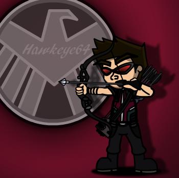 Hawkeye Avengers #Request by UnleashedPower1