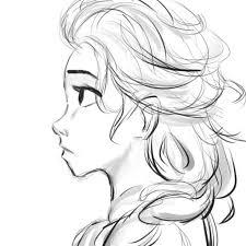 Elsa Sketch/Muro Paint And Shade by TheAlabamaArtist