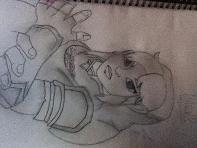 Link Drawing From: Hyrule Warriors by TheAlabamaArtist