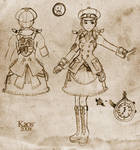 Steampunk Lolita design