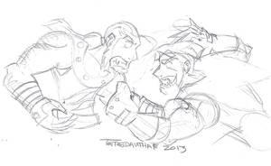Creed (616) vs Creed (295) Sketch