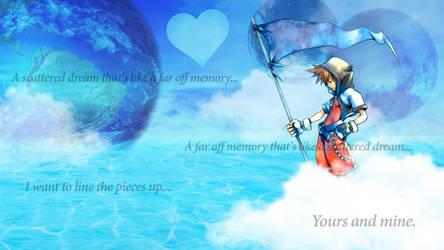 Fantasy Dream - Sora - A Far Off Memory by HaakonHawk