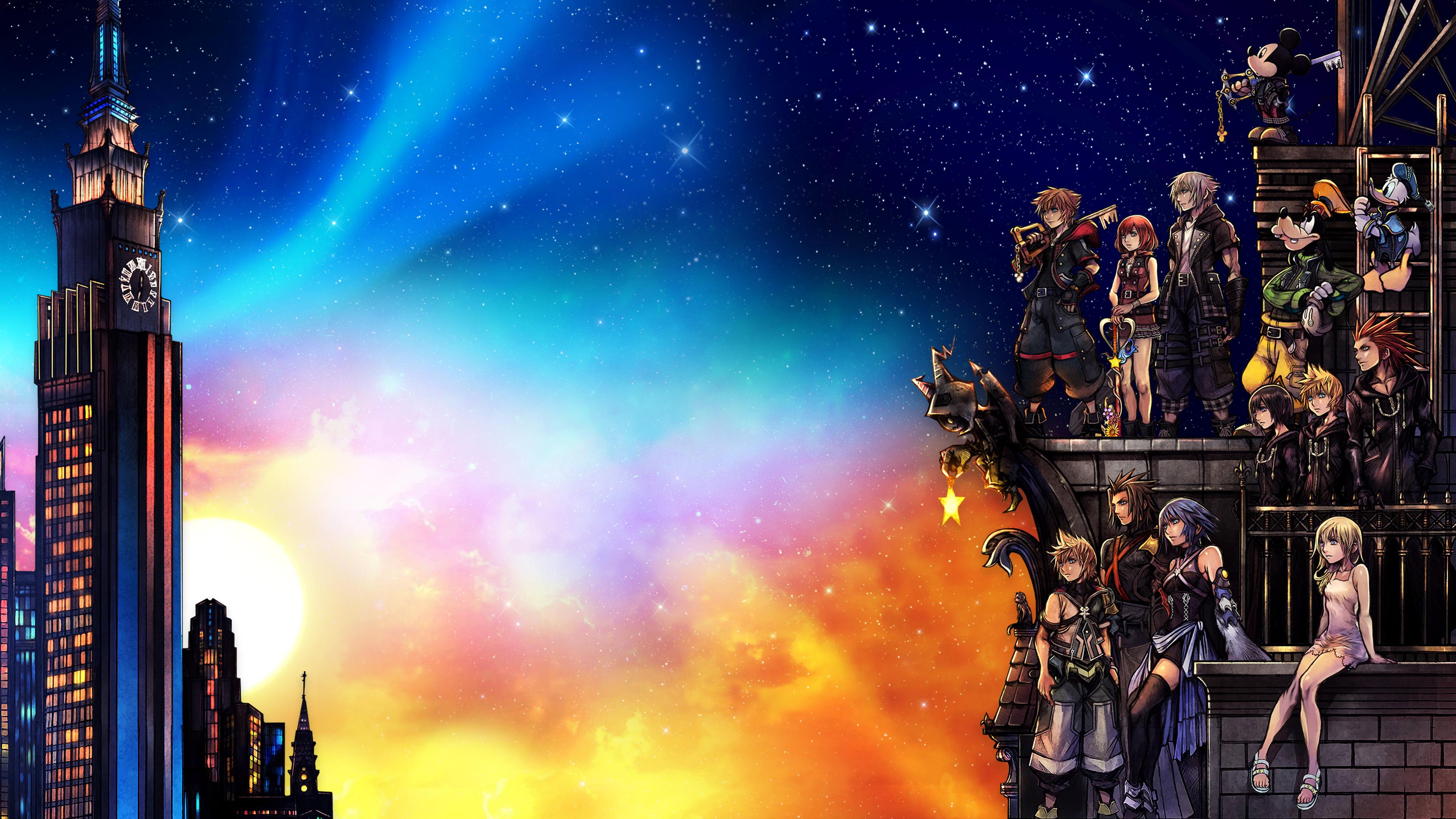 Final Chapter 4k Kingdom Hearts Iii Wallpaper By Haakonhawk On