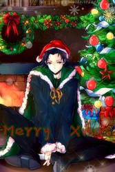 Happy Holidays from Loki by k-kuri