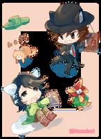 [F]-Double Detectives by k-kuri