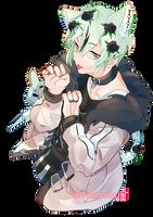 Machomilk san's qt by k-kuri