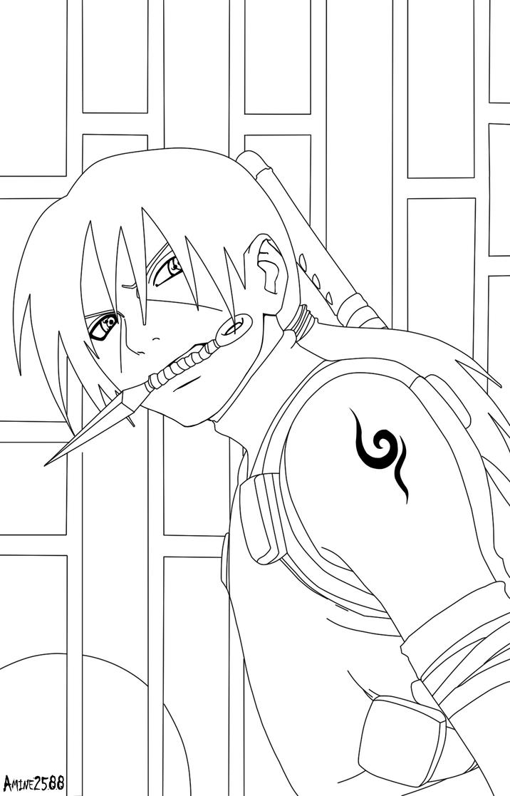 itachi coloring pages - itachi anbu by amine2588 on deviantart