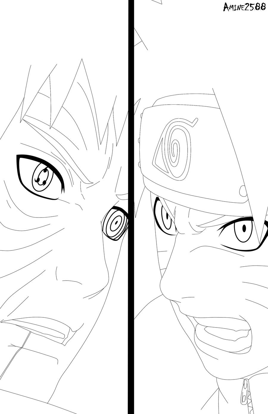 naruto 612 naruto vs obito by amine2588