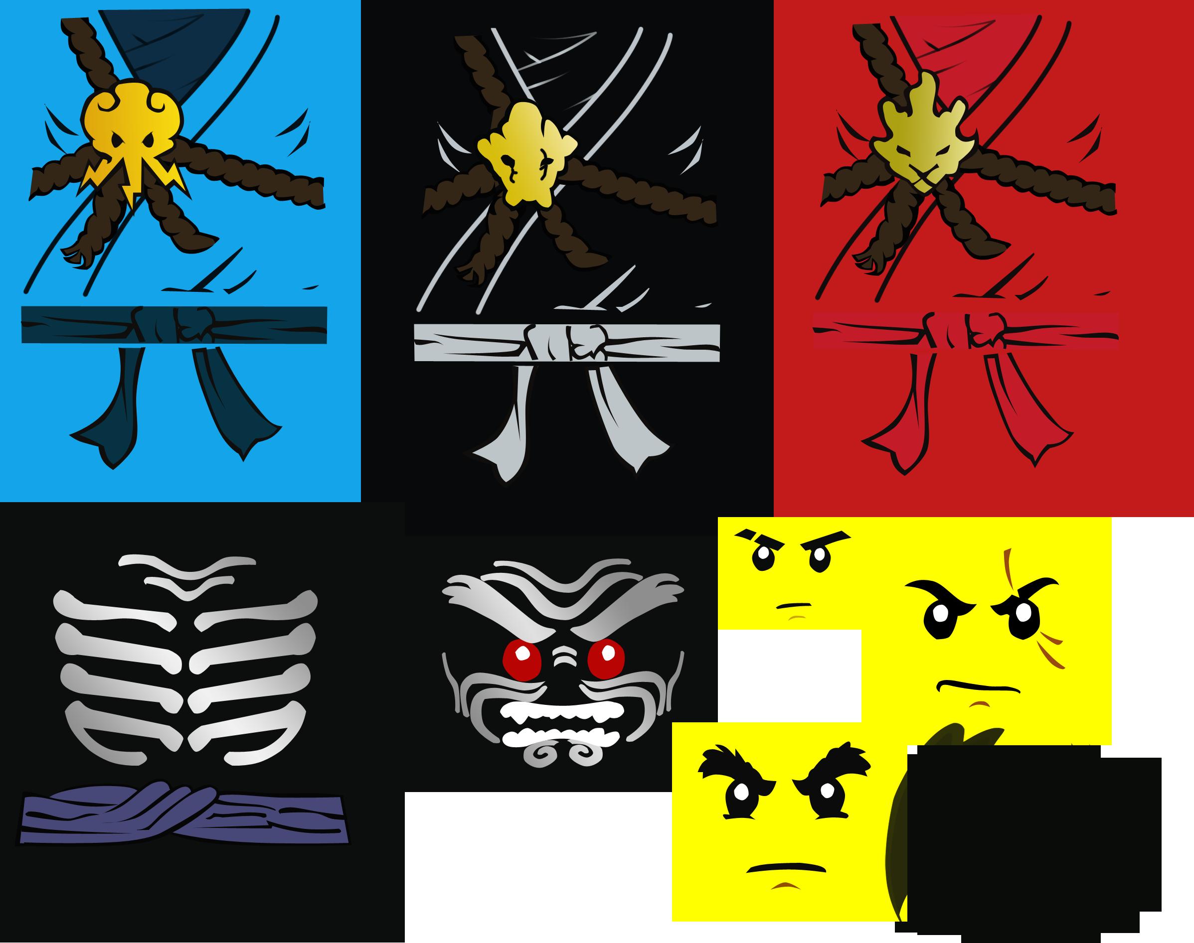 Lego ninjago textures gikairangames - Lego ninjago logo ...