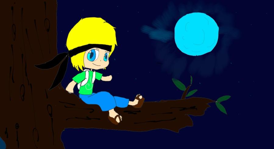 Fan Art- Under the Moonlight-Inthelittlewood by Rifeefee