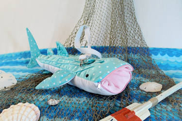 Whale Shark Bag by UpstageGallery
