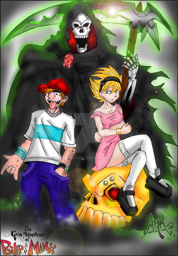 billy and mandy by arkthefury on deviantart