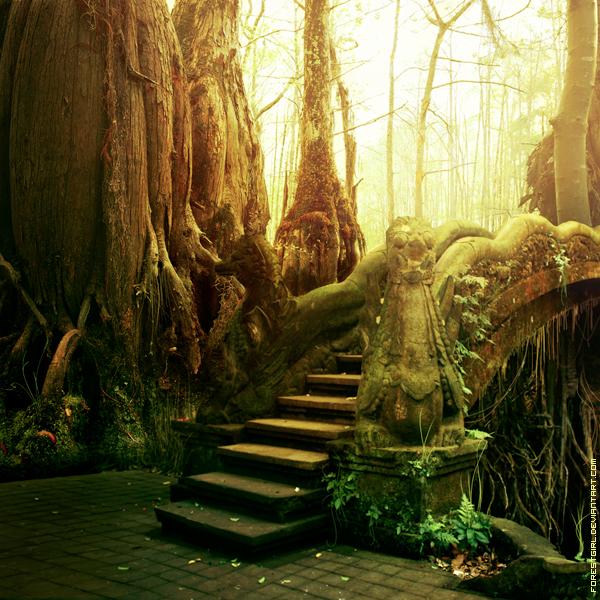 Dragon Bridge by ForestGirl