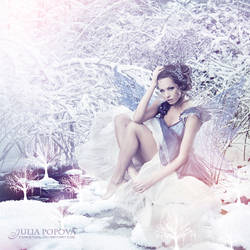 Winter fairy by ForestGirl